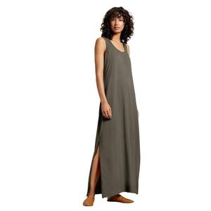 Michael Stars Maxi Dress Olive Green